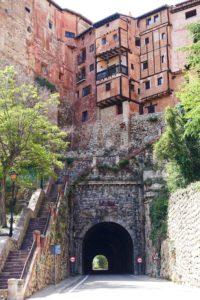 Albarracín facahada