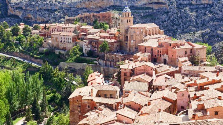 Albarracín aérea
